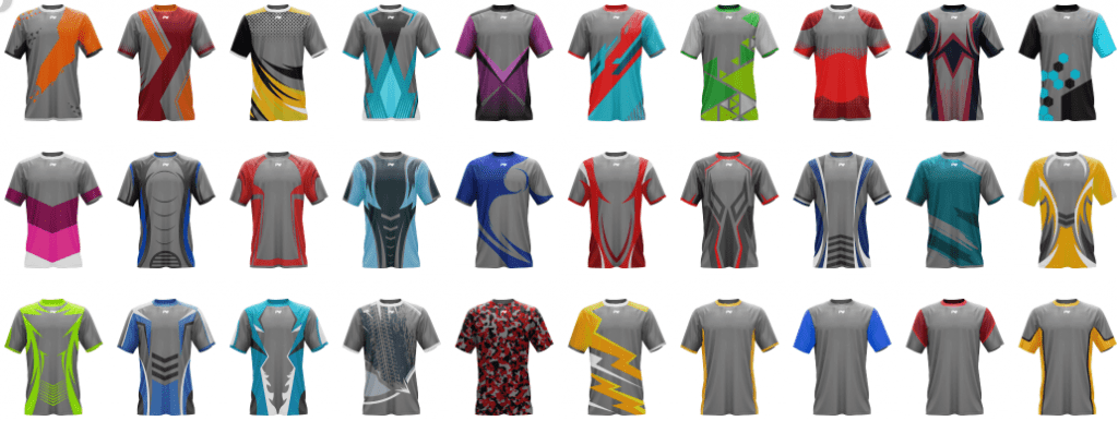 Choose your design and create your own custom jersey.