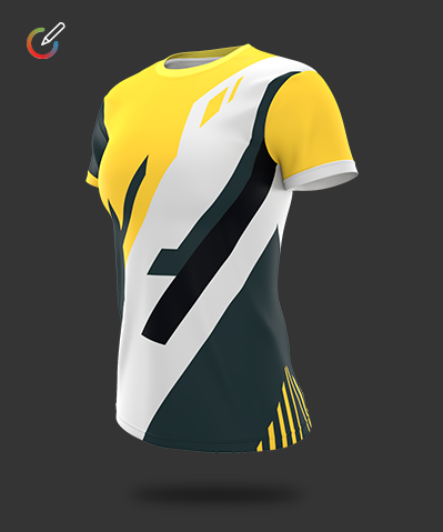 Womans Crew Neck Gaming Jersey