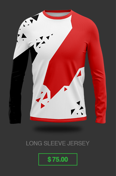 Long Sleeve Custom Esports Jersey