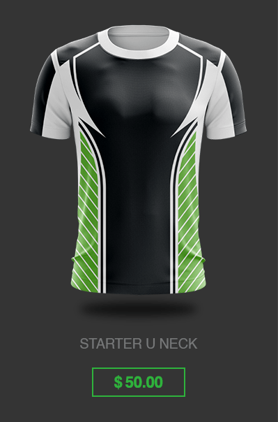 Custom Gaming Jersey Starter Uneck