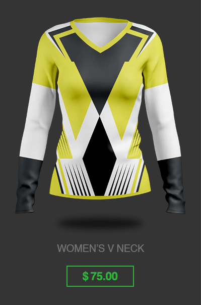 Women's Long Sleeve Gaming Jersey