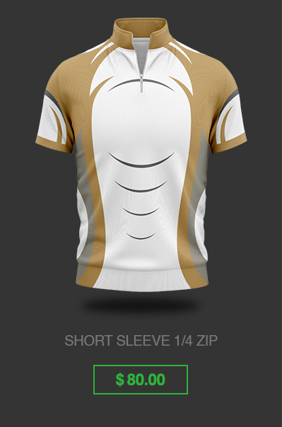 Short Sleeve Jacket Custom Gaming Jersey