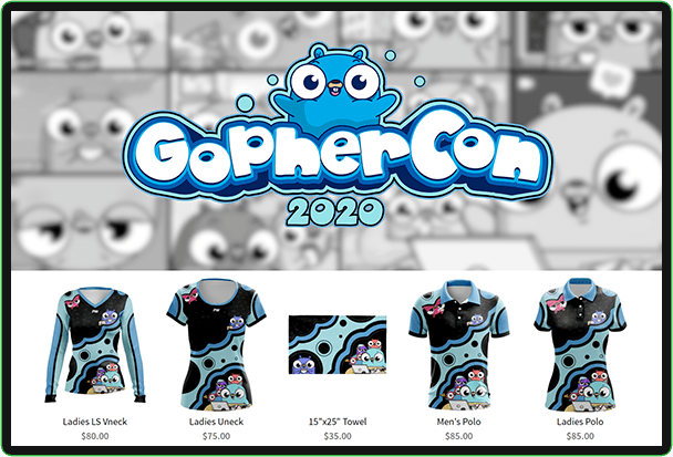 gophercon custom gaming jersey store