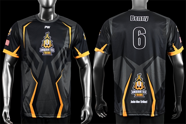 Unwanted Tribe Gaming Jerseys